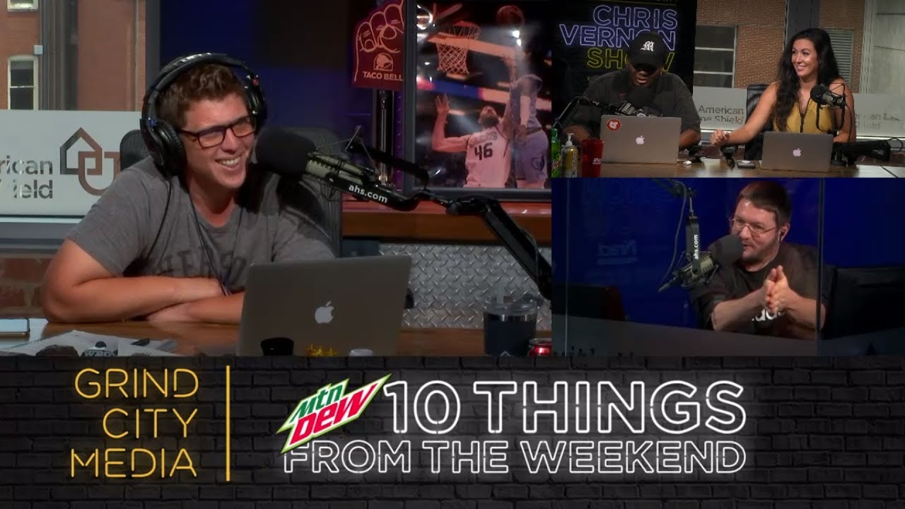 Chris Vernon Show - 6/29/20 | 10 Things from the Weekend!