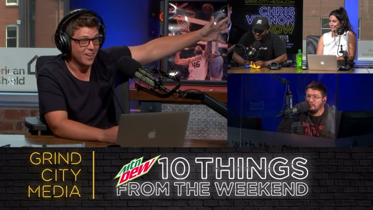 Chris Vernon Show - 7/6/20 | 10 Things from the Weekend!