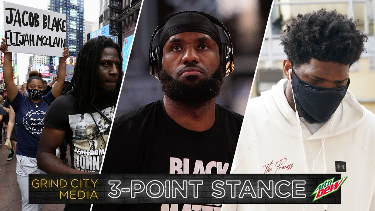 Jacob Blake Shooting, Lakers on Mamba Day, and Time to Doubt the Process? | 3-Point Stance - Ep 39