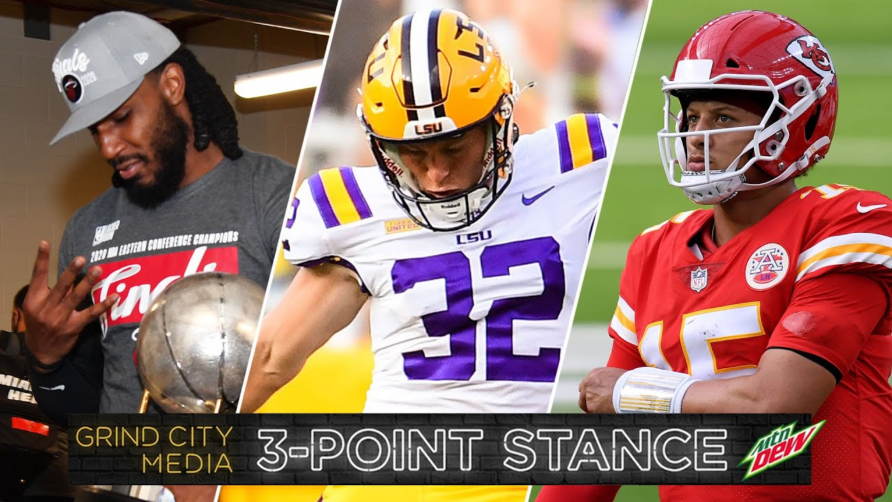 NBA Finals Set, Crazy College Football Weekend, Ravens vs. Chiefs for MNF | 3-Point Stance