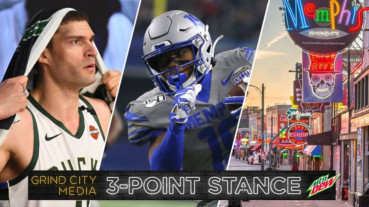 Bucks in Trouble, Kenny Gainwell Opts-Out, and it's 901 Day in Memphis! | 3-Point Stance - Ep 40