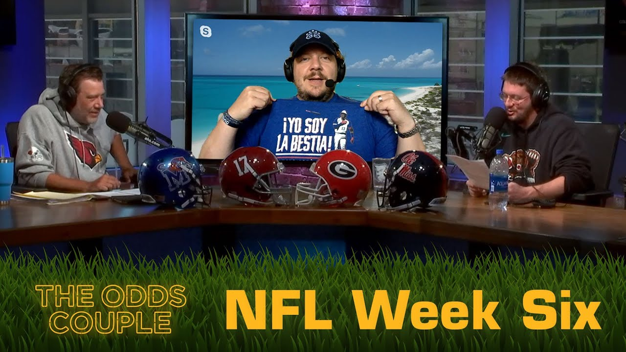 The Odds Couple: Pick With Your Gut! w/ Lance Taylor + Pick'em Panel (Week Six)