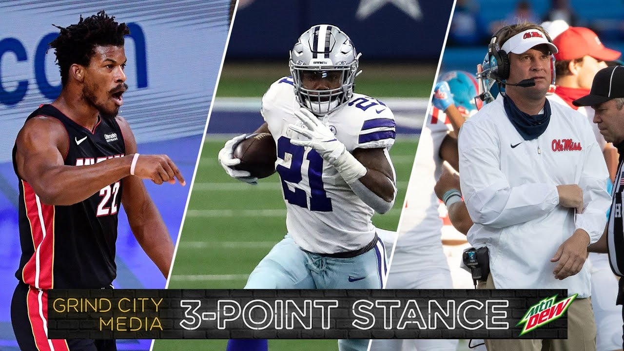 Jimmy Butler's Historic Performance, NFC East is Bad, College Football Madness | 3-Point Stance