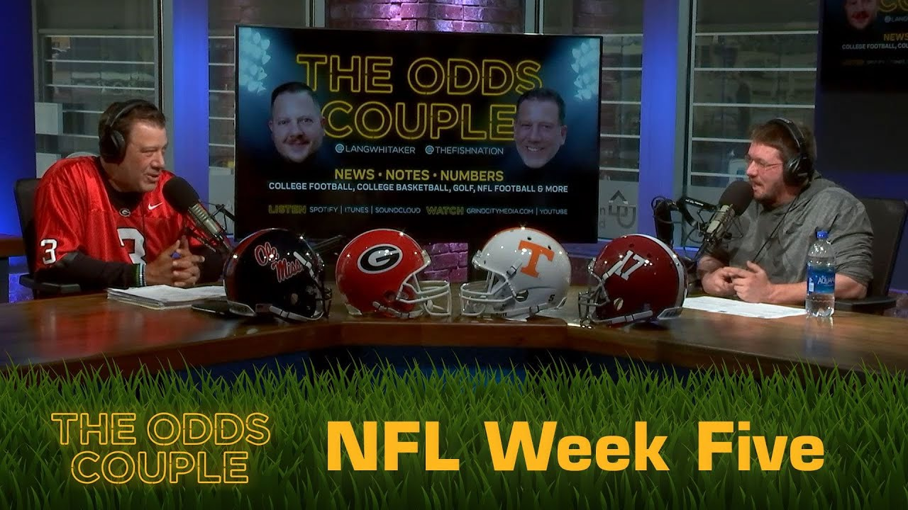 The Odds Couple: A Bunch of BILL-ievers + Pick'em Panel (Week Five)
