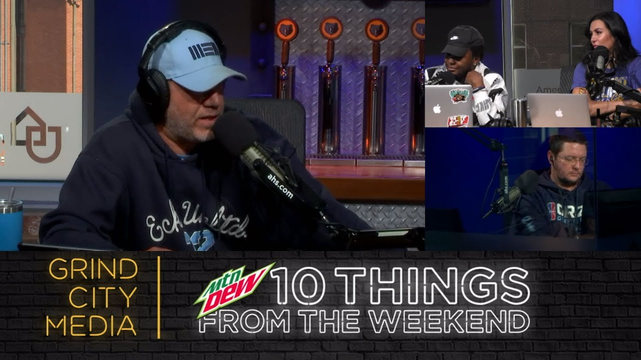 Chris Vernon Show - 11/23/20   10 Things from the Weekend ft. Rob Fischer!