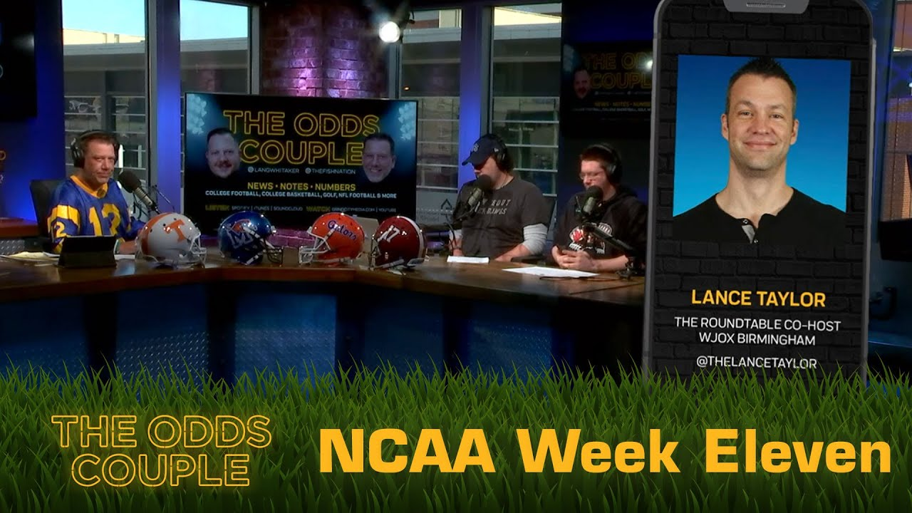 The Odds Couple: Betting on the MAC + Pick'em Panel (Week Eleven) - ft. Lance Taylor!