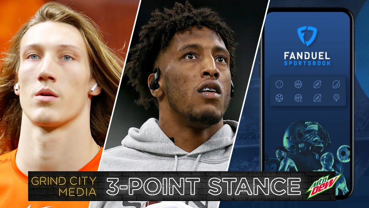 Trevor Lawrence Out Due to COVID, Michael Thomas, Sports Betting in Tennessee | 3-Point Stance