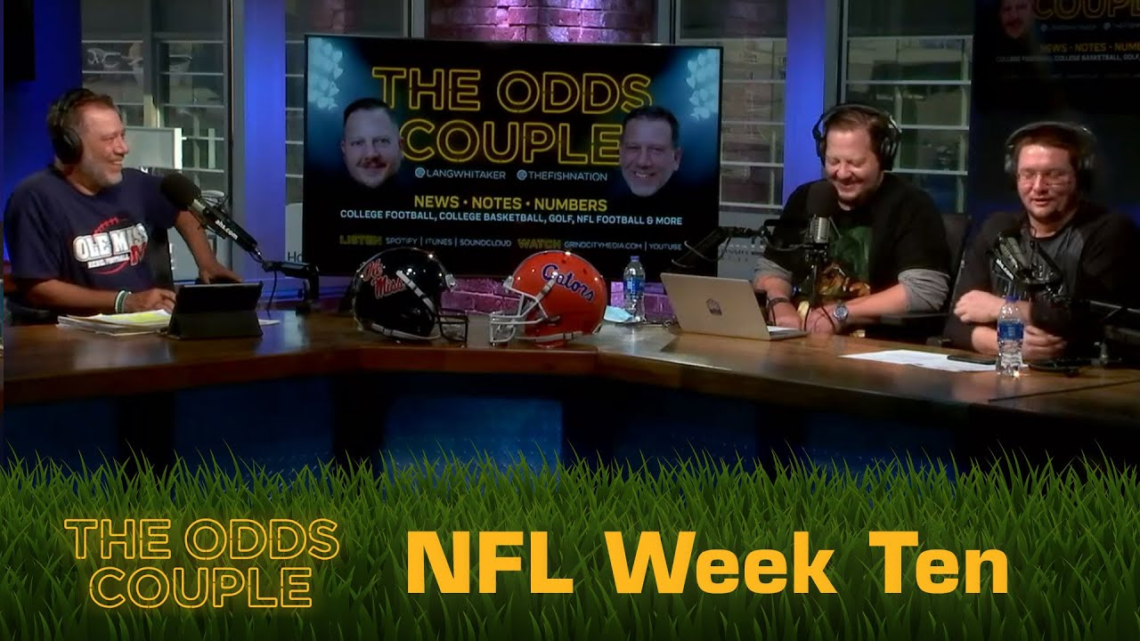 The Odds Couple: Only Two Helmets + Pick'em Panel (Week Ten) - ft. Vinnie Verno!
