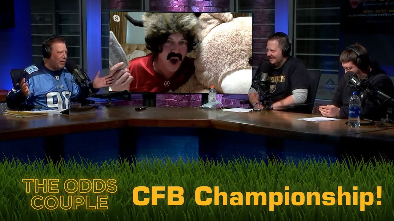 The Odds Couple: CFP Championship & NFL Preview + Pick'em Panel ft. Vinnie Verno!