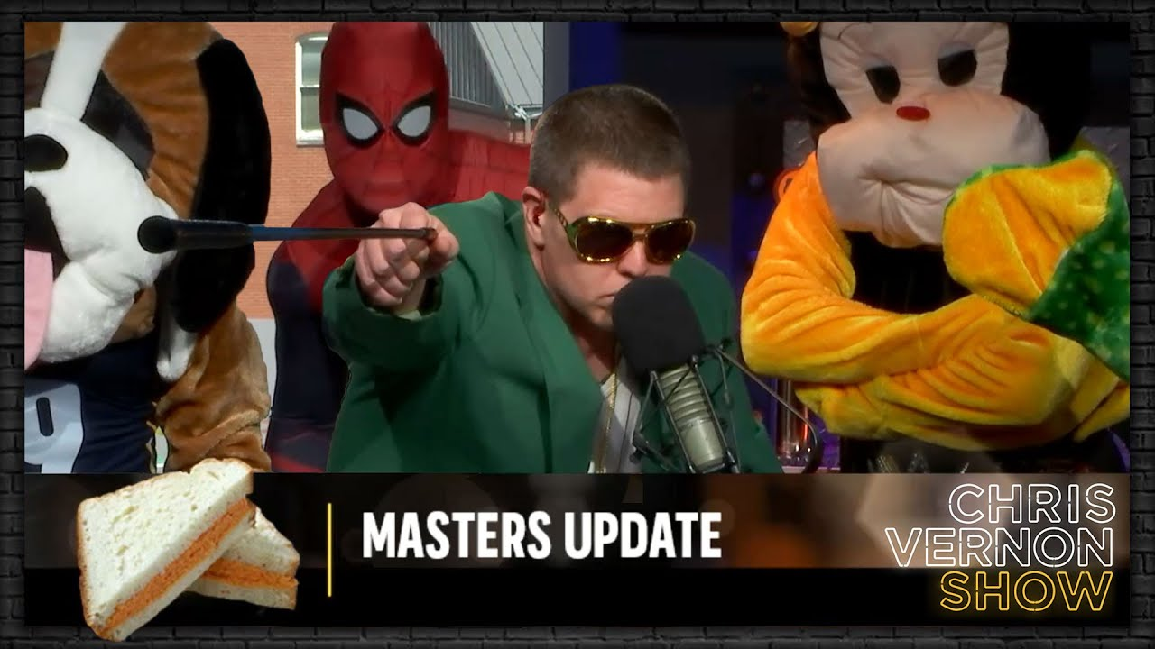 2021 MASTERS UPDATE DAY #1   Chris Vernon Show
