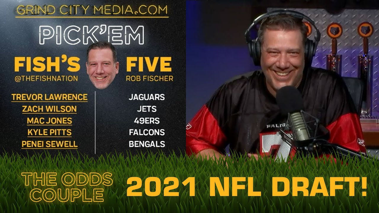 The Odds Couple: NFL Draft Predictions! (Draft Order, Betting Odds) + Pick'em Panel