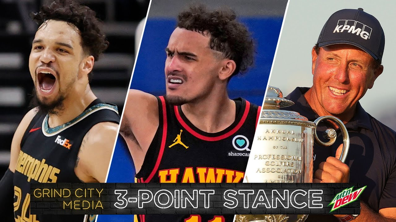 Memphis Grizzlies on FIRE, NBA Playoff Surprises, Phil MicKelson Wins PGA Chip!   3-Point Stance