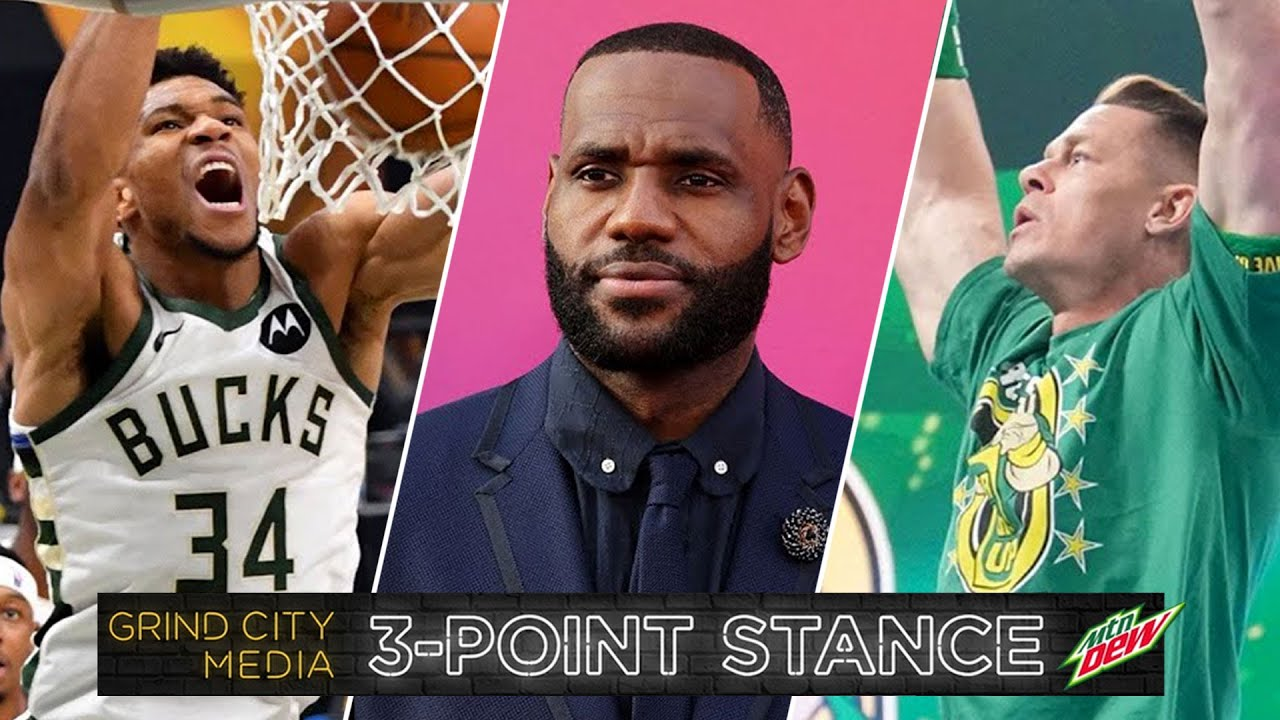 Giannis Ignites in Game 5, Space Jam 2 Review, John Cena Surprise Return!   3-Point Stance