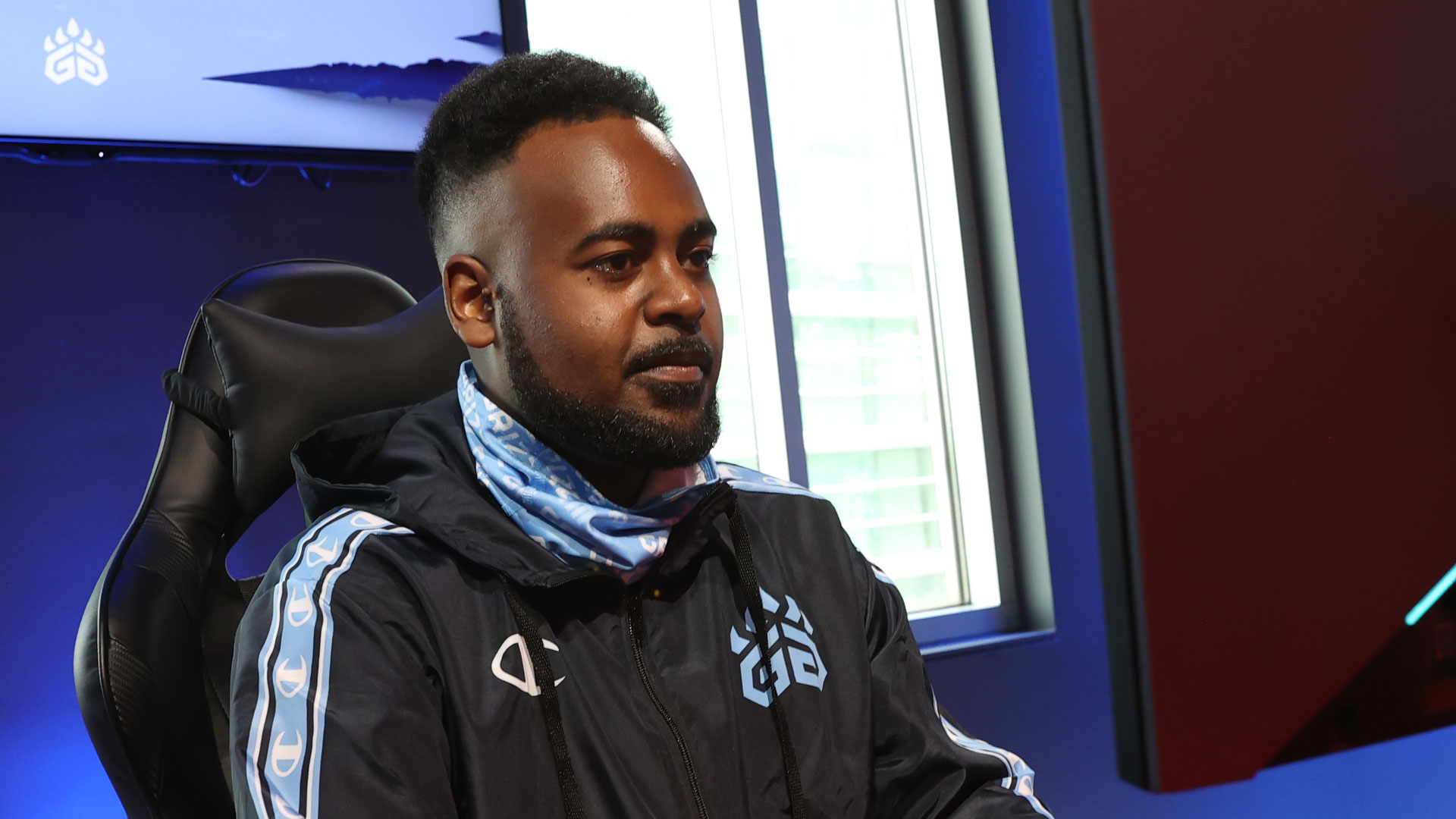 Grizz Gaming's Mehyar Ahmed-Hassan, aka Authentic African
