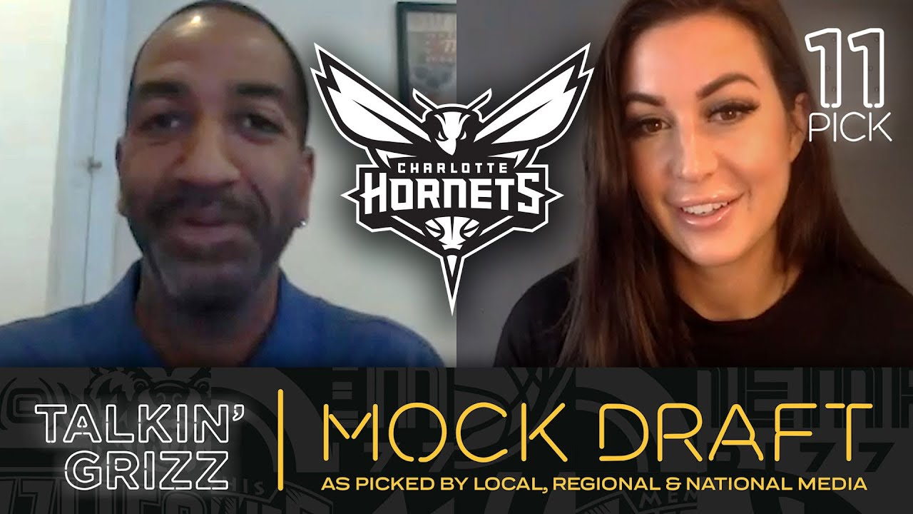 Sports Illustrated's Rod Boone Predicts Charlotte Hornets #11 Pick in NBA Draft! | Talkin' Grizz