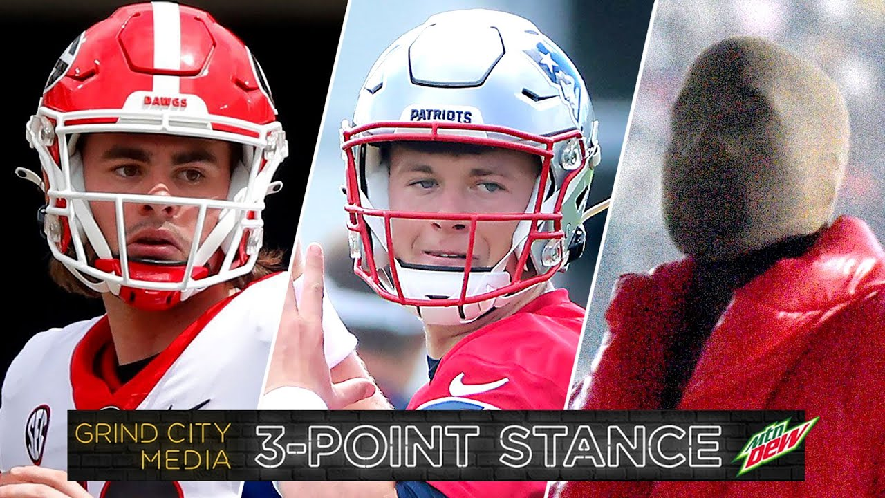 UGA To Win 2021 Championship? Mac Jones or Cam Newton? & Donda is OUT! | 3-Point Stance