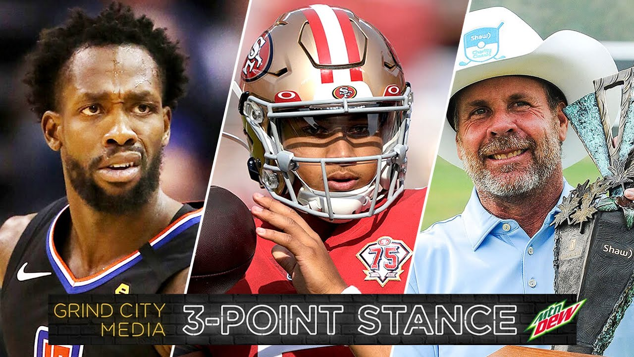 Grizz Acquire Patrick Beverly, NFL Rookie QBs Debut, Doug Barron Wins Champions | 3-Point Stance