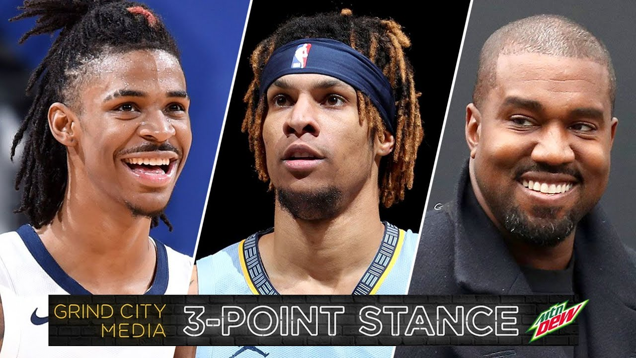 Grizz Schedule Release, BC's Breakout Season? + Kanye vs Drake Beef | 3-Point Stance