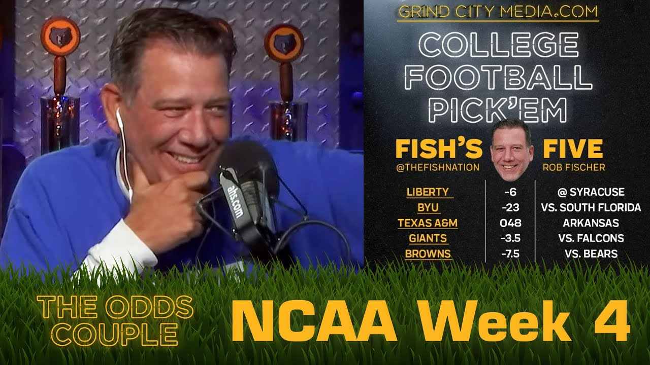 The Odds Couple: Florida vs Tennessee Week (CFB Week 4 ) + Lance Taylor & Pick'em Panel