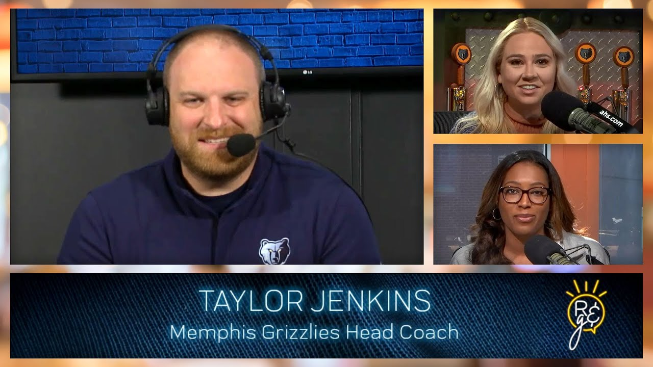 Rise & Grind - 9/27/21   Grizz Media Day Kickoff, Mike Wallace and Taylor Jenkins