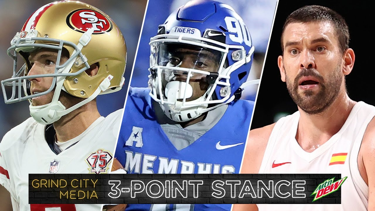 NFL Week One Overreactions, Tigers Fail To Cover, Marc Gasol Back to Memphis | 3-Point Stance