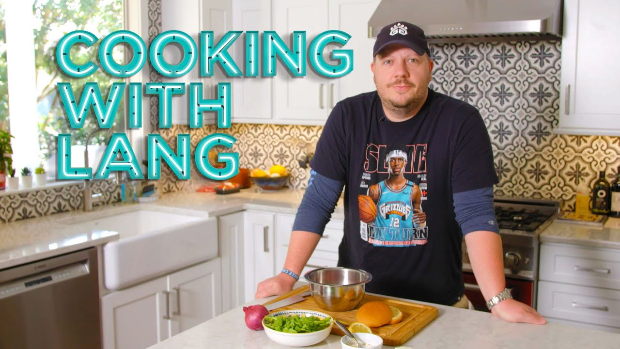 Cooking With Lang Returns with Delicious Lamb Burgers Recipe!