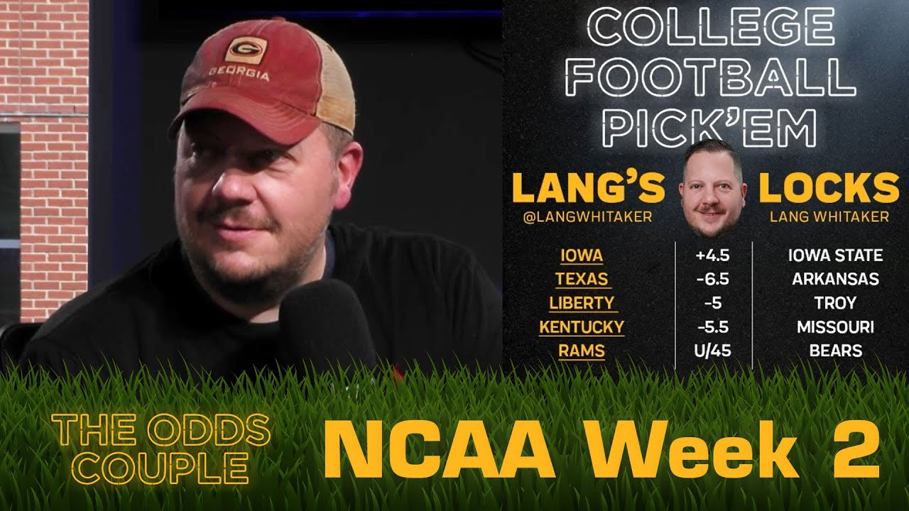 The Odds Couple: NFL is Back and CFB Week 2 + Lance Taylor & Pick'em Panel