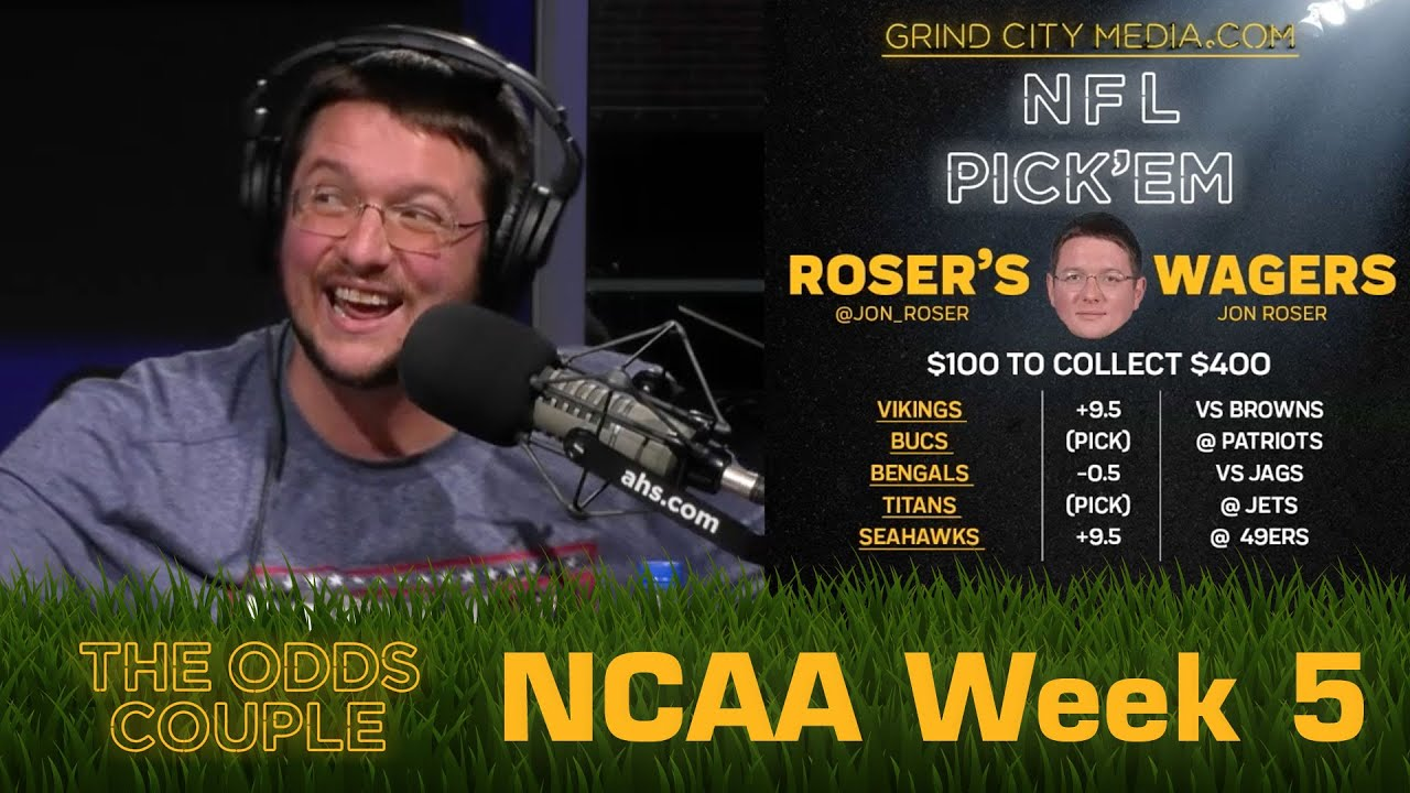 The Odds Couple: Big Time Matchups in the SEC (CFB Week 5 ) + Lance Taylor & Pick'em Panel