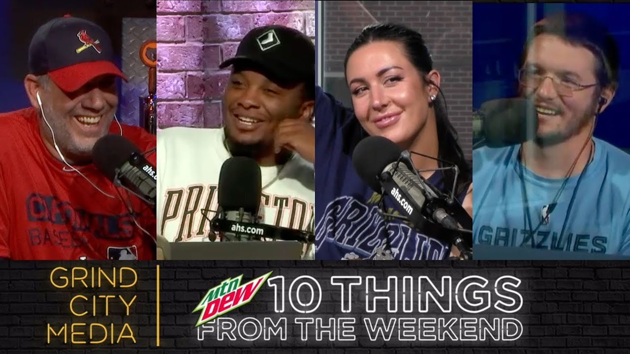 Chris Vernon Show ft. Rob Fischer! | 10 Things From The Weekend!