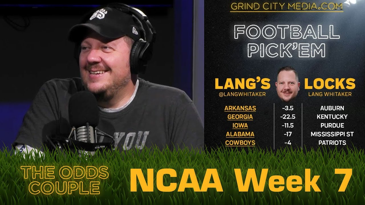 The Odds Couple: Don't Believe the Heupel (CFB Week 7) + Lance Taylor & Pick'em Panel
